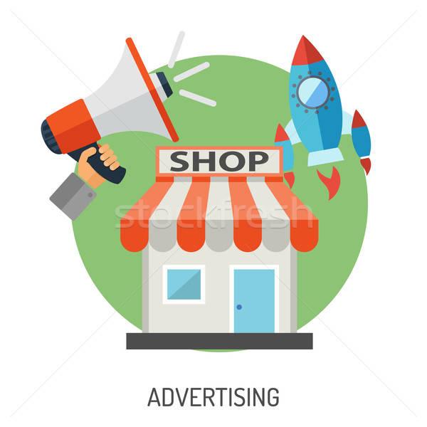 インターネットショッピング マーケティング 広告 eコマース ショップ ストックフォト © -TAlex-