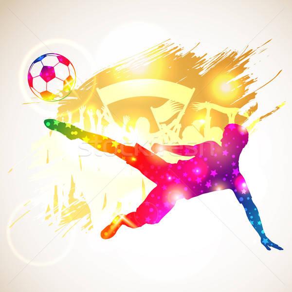 Soccer Player Stock photo © -TAlex-
