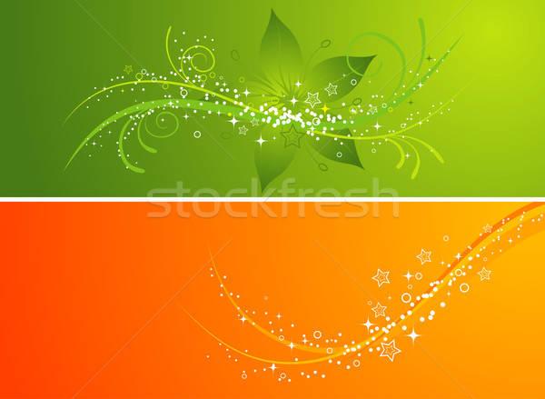 花 デザイン 抽象的な 背景 フレーム ストックフォト © -TAlex-