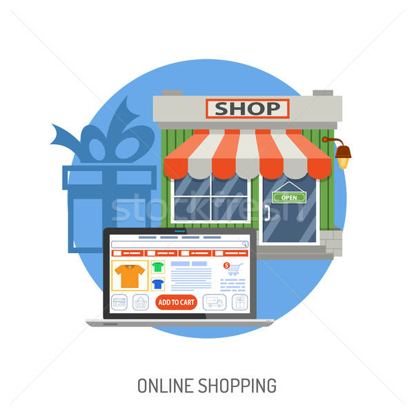 Internet Shopping Concept Stock photo © -TAlex-