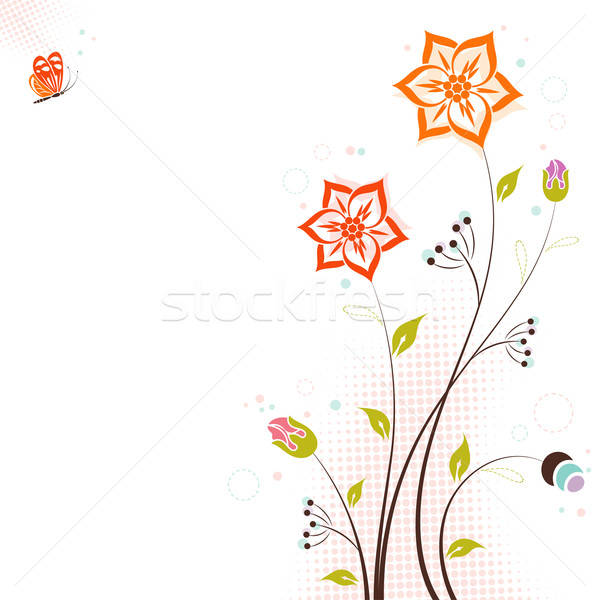 Floral theme Stock photo © -TAlex-