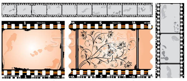 Photographic film, filmstrip, vector Stock photo © -TAlex-
