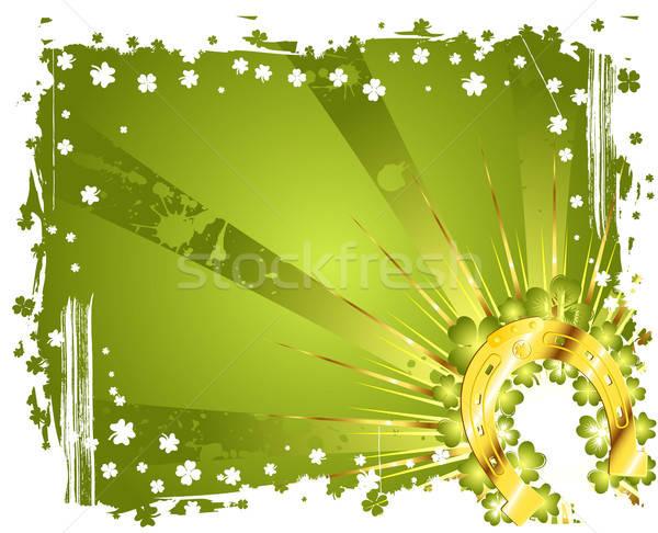 St. Patrick Day Background Stock photo © -TAlex-