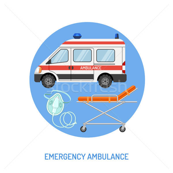 medical emergency ambulance concept Stock photo © -TAlex-