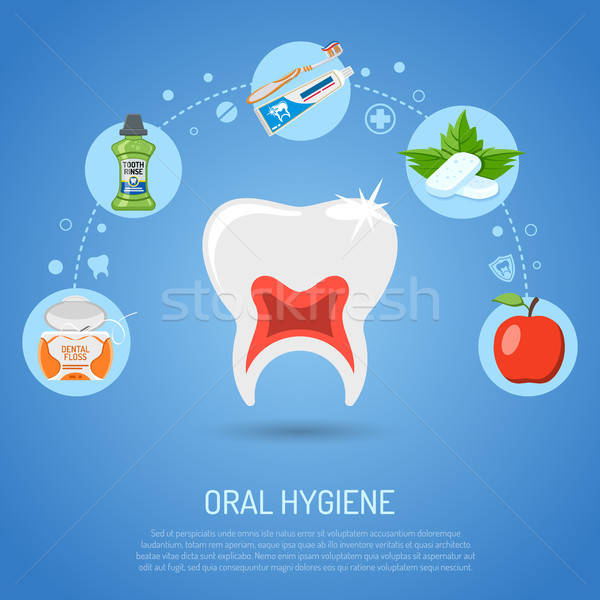Oral Hygiene Concept Stock photo © -TAlex-