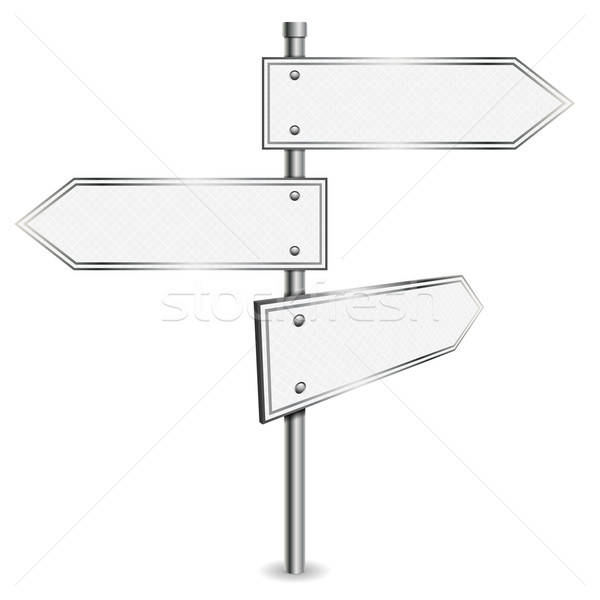 Pole with Road Signs Stock photo © -TAlex-