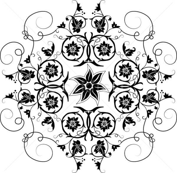 Element for design, flower Stock photo © -TAlex-