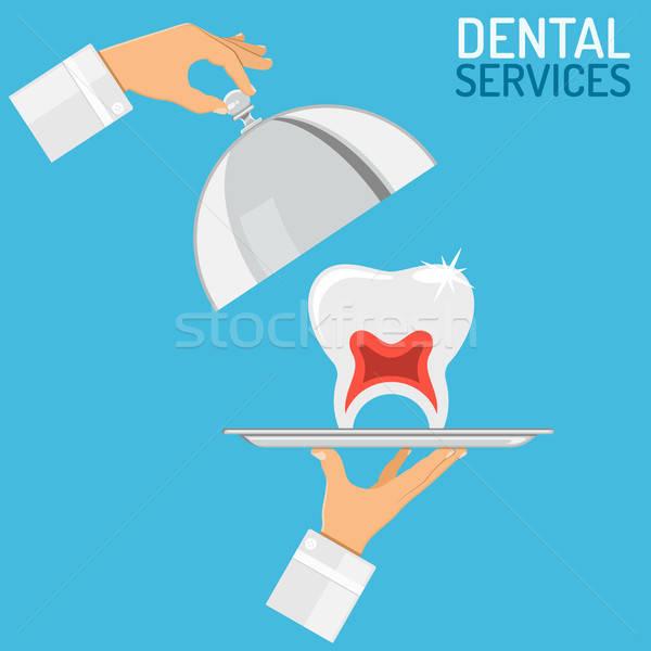 Dental Services concept Stock photo © -TAlex-