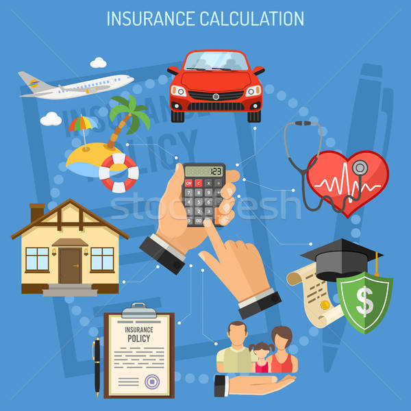 Insurance Services Calculation Stock photo © -TAlex-