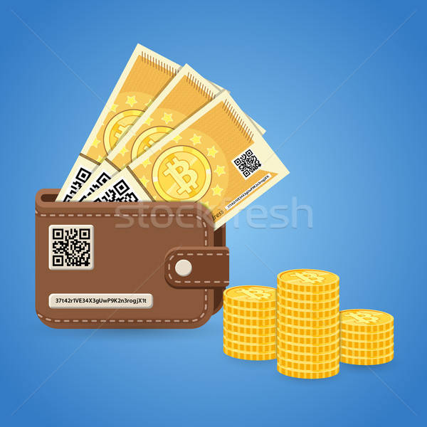 Crypto currency bitcoin technology concept Stock photo © -TAlex-