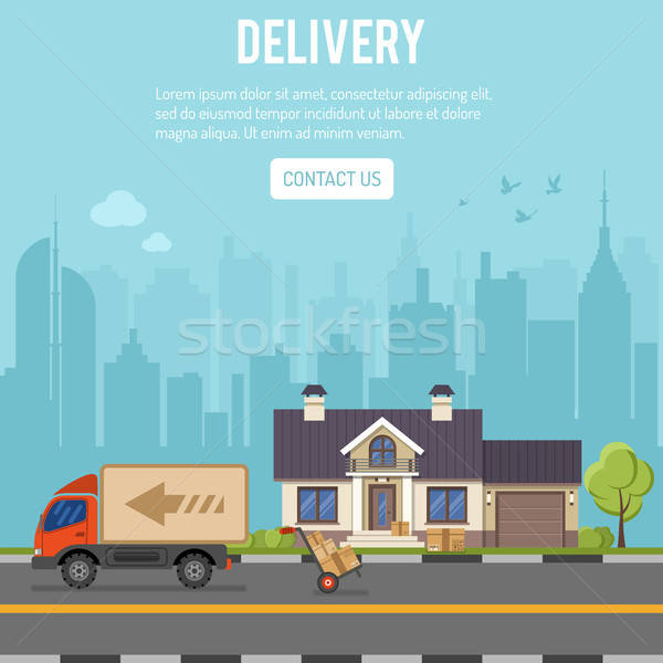 Shopping and Delivery Concept Stock photo © -TAlex-