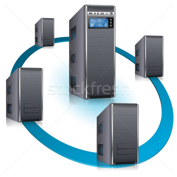 Network Concept Stock photo © -TAlex-