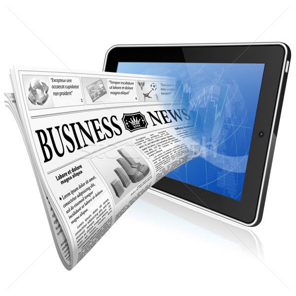 Concept - Digital News Stock photo © -TAlex-