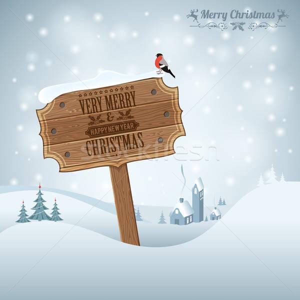 Christmas background Stock photo © -TAlex-