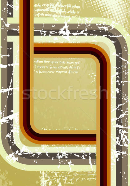 Retro grunge streep abstract achtergrond kunst Stockfoto © -TAlex-