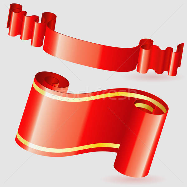 Scroll Ribbon Stock photo © -TAlex-
