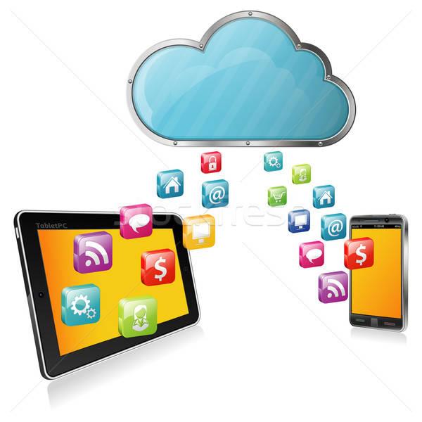 Cloud Computing Stock photo © -TAlex-