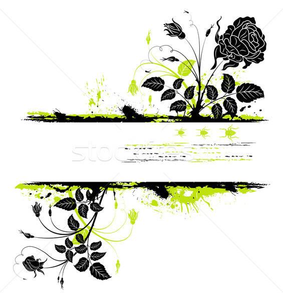 Soyut çerçeve grunge böcek Stok fotoğraf © -TAlex-