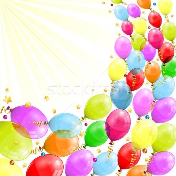 Birthday Frame Stock photo © -TAlex-