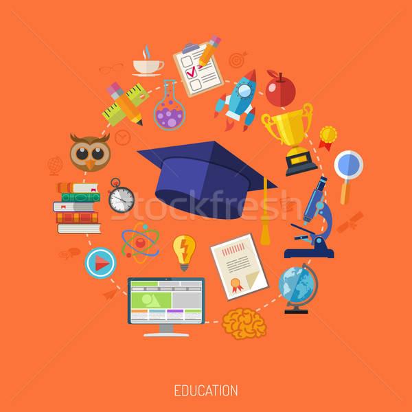 Online Education Concept Stock photo © -TAlex-