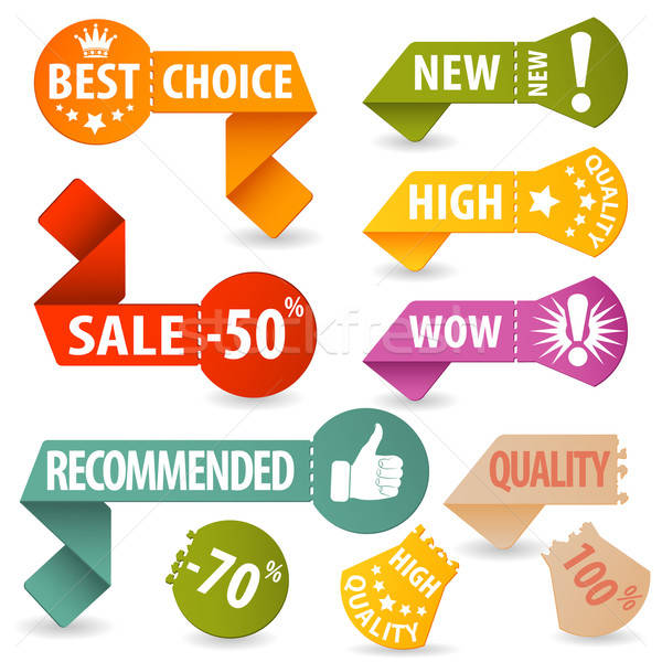Collect Shopping Signs Stock photo © -TAlex-