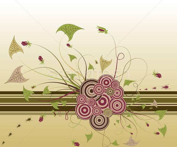 Streszczenie kwiatowy chaos błąd projektu Zdjęcia stock © -TAlex-
