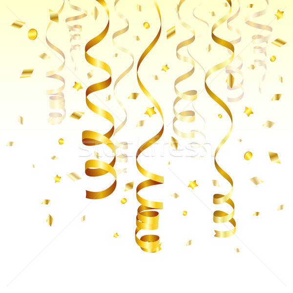 Gold Streamer Stock photo © -TAlex-