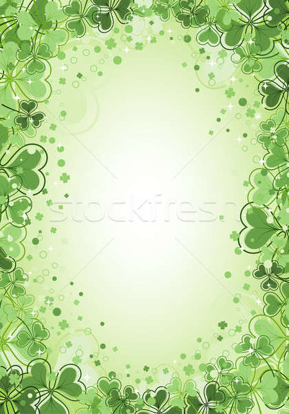 St. Patrick Day Background Stock photo © -TAlex-