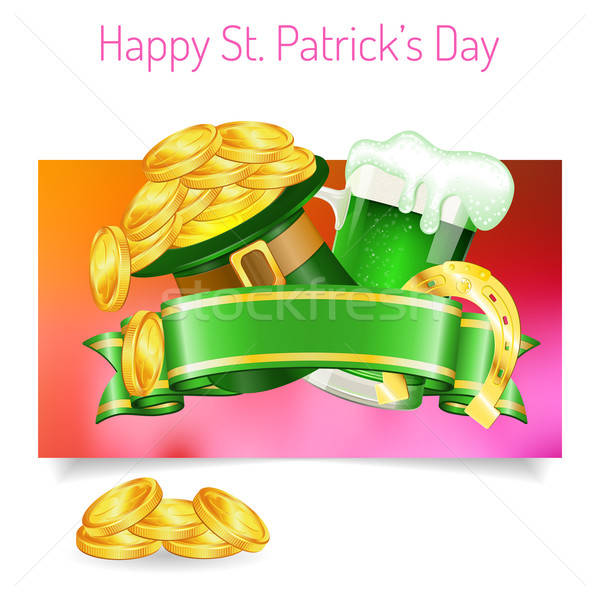 St. Patrick's Day Banners Stock photo © -TAlex-