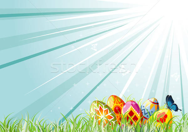 Easter eggs Stock photo © -TAlex-
