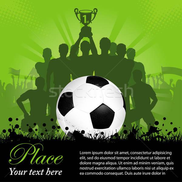 Soccer Poster Stock photo © -TAlex-