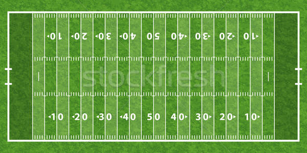 American Football Field Stock photo © -TAlex-