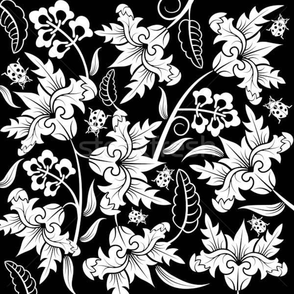 Abstract flower pattern Stock photo © -TAlex-