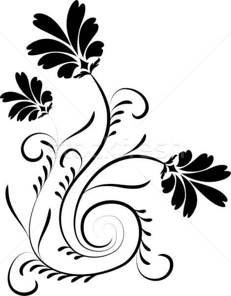 Alkotóelem terv virág illusztráció művészet nyár Stock fotó © -TAlex-
