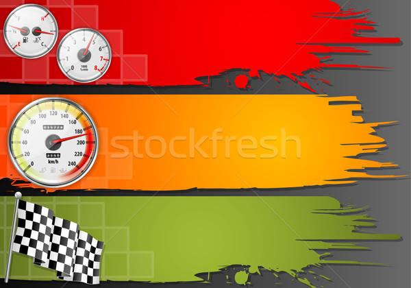 Three Speed Frame Stock photo © -TAlex-