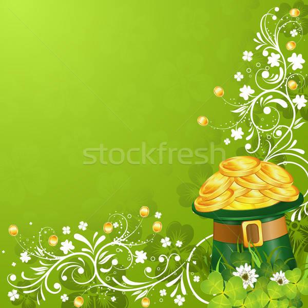 Patricks Day Card Stock photo © -TAlex-