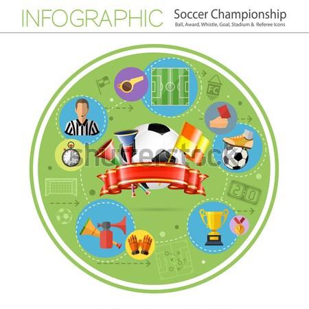 Online Games Infographics Stock photo © -TAlex-