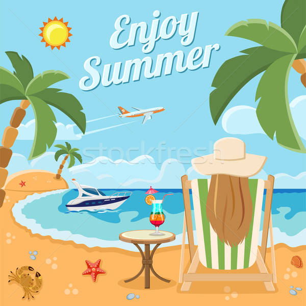 Vacation and Summer Concept Stock photo © -TAlex-