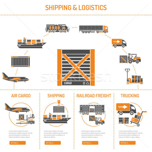 Shipping and logistics Concept Stock photo © -TAlex-