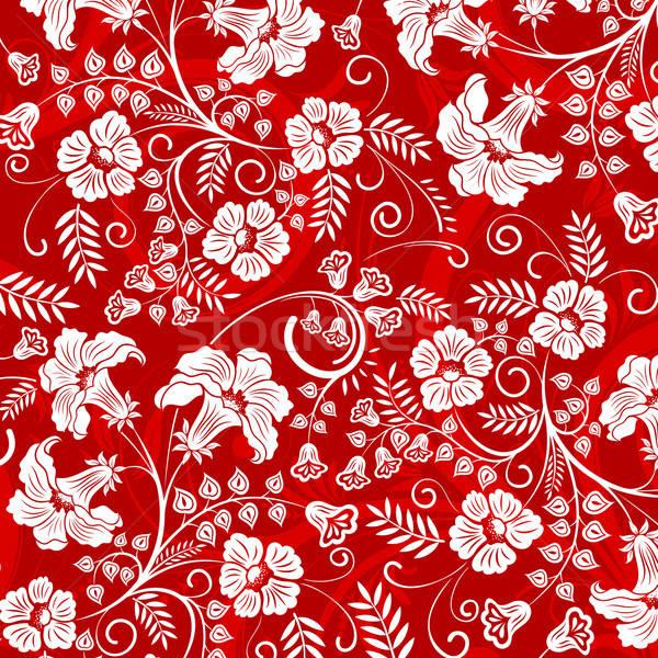 Modello di fiore bella elemento design abstract natura Foto d'archivio © -TAlex-