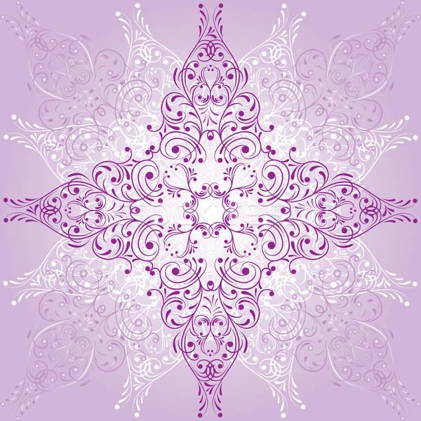 Virág elemek terv vektor művészet nyár Stock fotó © -TAlex-