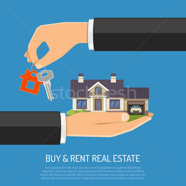 Buy or Rent Real Estate Stock photo © -TAlex-