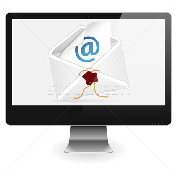 E-Mail Concept Stock photo © -TAlex-