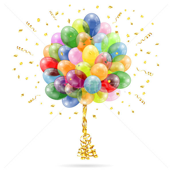 Birthday Balloons Stock photo © -TAlex-