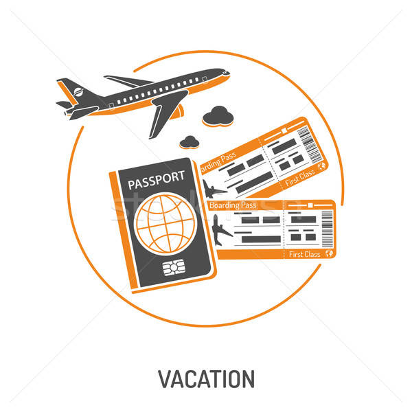 Vacation Time and Tourism Concept Stock photo © -TAlex-