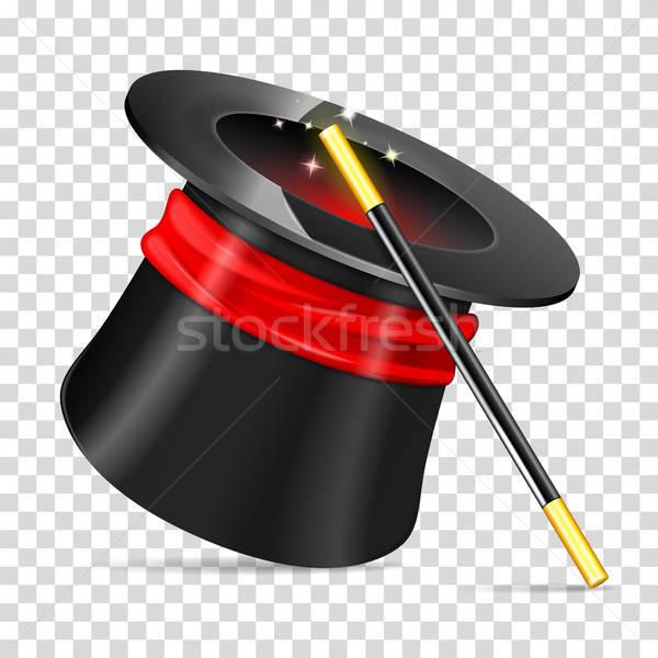 Mágico seis realista vetor ícone isolado Foto stock © -TAlex-