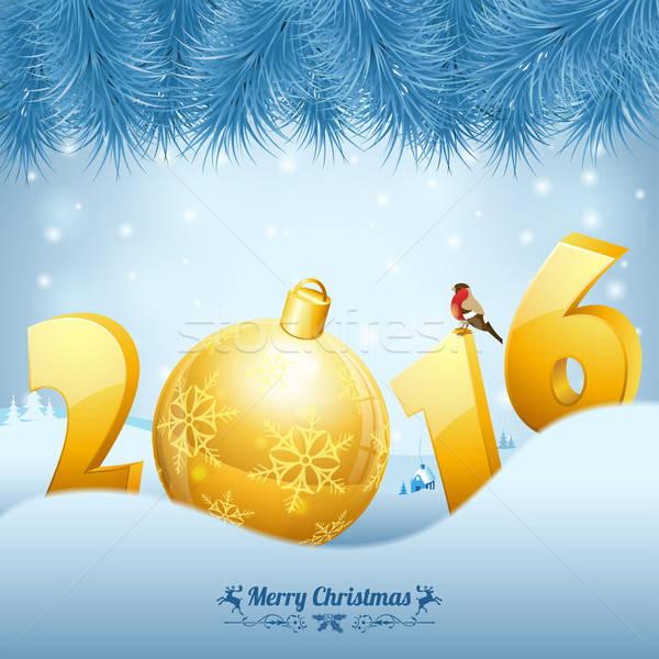 New Year Background Stock photo © -TAlex-