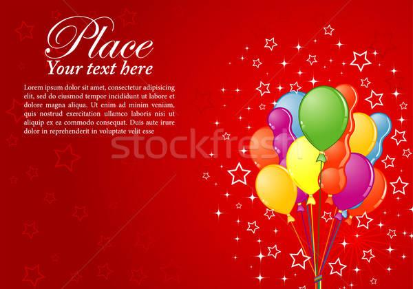 Birthday Background Stock photo © -TAlex-