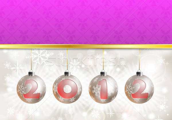2012 New Year Background Stock photo © -TAlex-