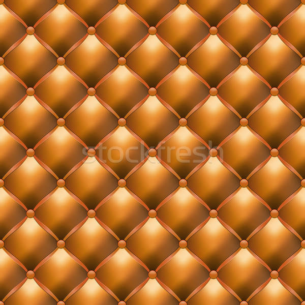 Leather Upholstery Seamless Texture Stock photo © -TAlex-
